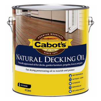Cabot's deck product